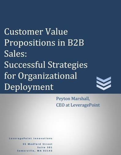 customer propositions The customer value proposition differentiation through the eyes of your customer pamela hudadoff dedicated to making expert marketing techniques more accessible.