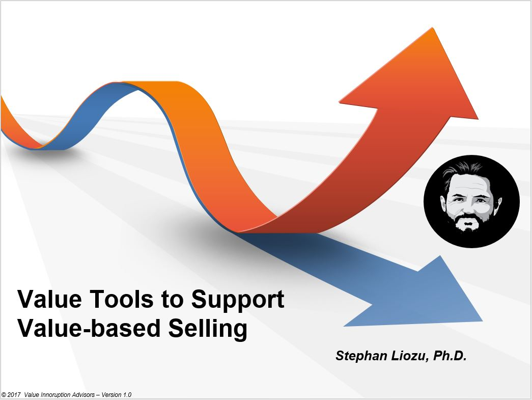Using Value Tools To Support Value-based Selling